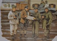 1/35 Фигуры Commanders Conference (Kharkov 1943) (Dragon, 6144)